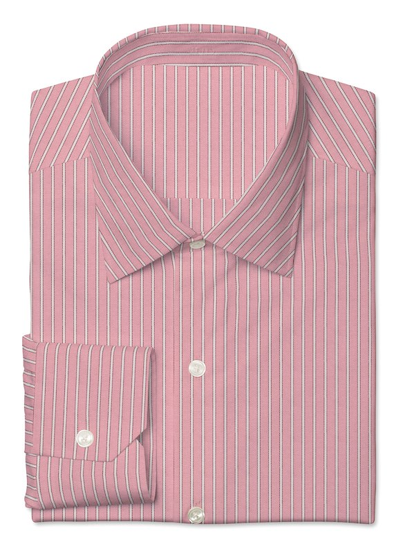 Pink / White Twill Stripe
