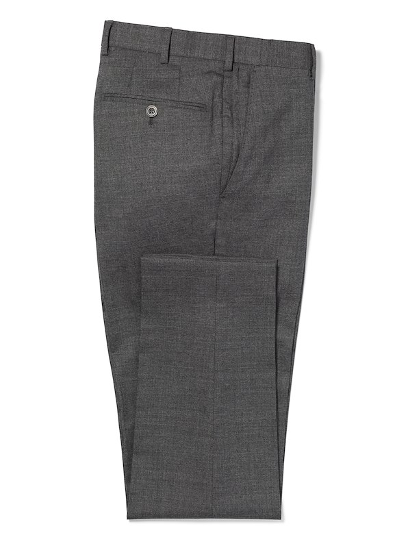 Charcoal Performance Wool Solid