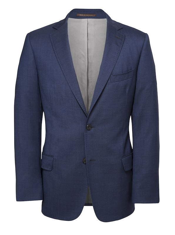 Navy Performance Wool Solid