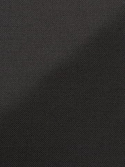 Black Twill Solid