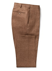 Amber Brown Linen Solid