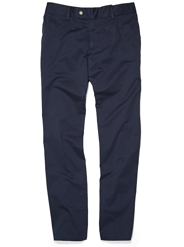 Garment Dyed Chino-Straight Fit - Navy