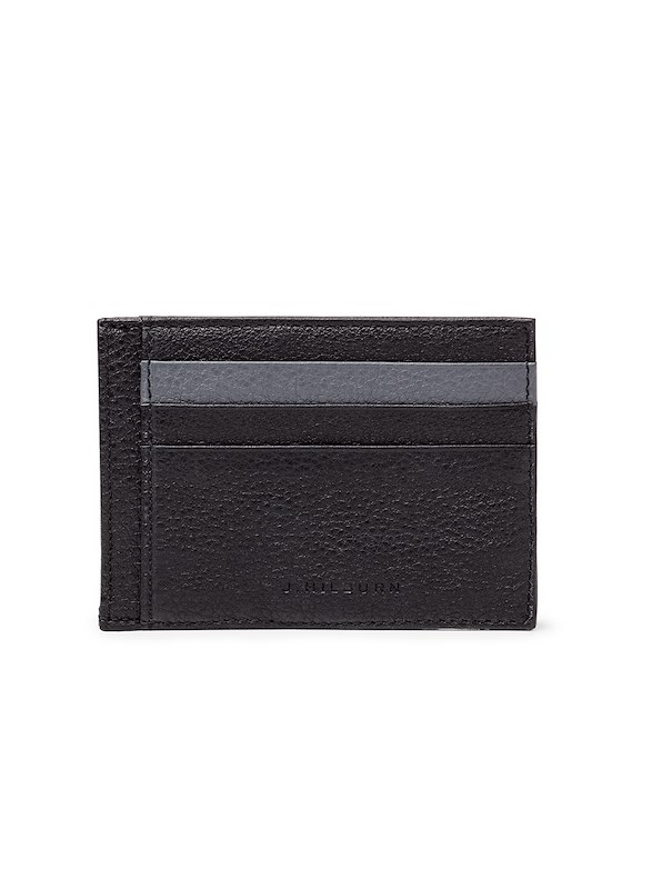 Leather Cardholder - Black
