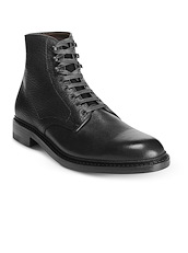 Allen Edmonds Higgins Mill - Black Tumbled
