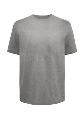 Grey Heather Brushed Cotton