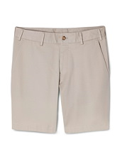 Oatmeal Brushed Twill Short