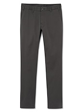Charcoal Brushed Twill Chino