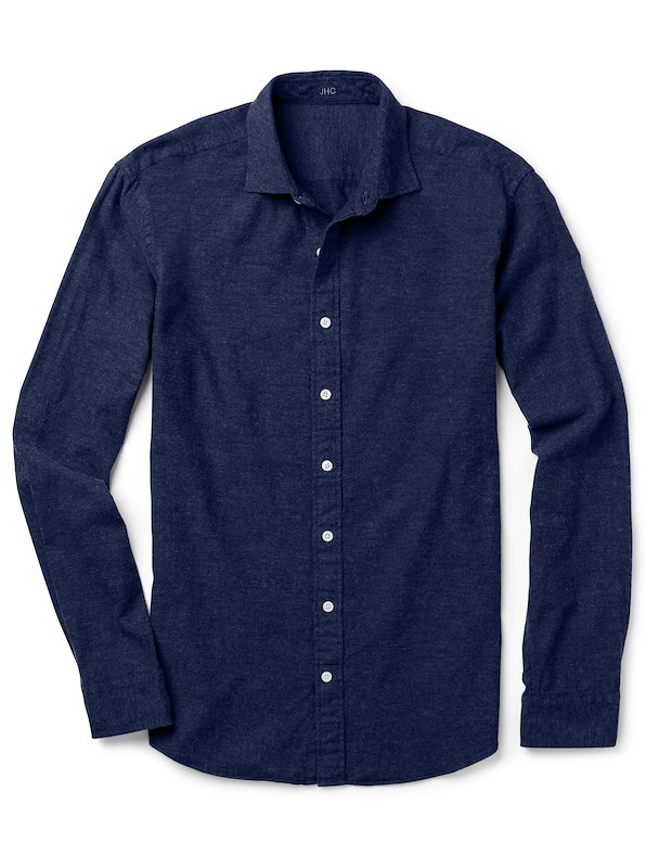 Navy Brushed Solid