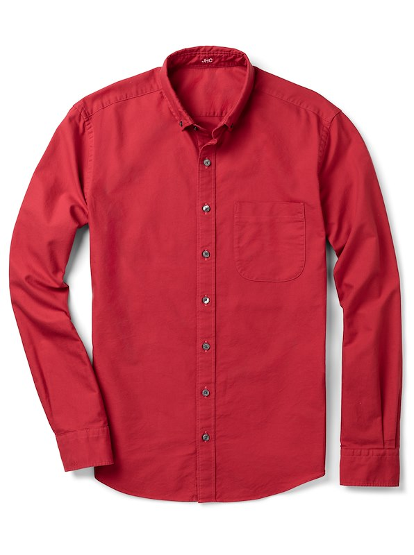Red Oxford Solid