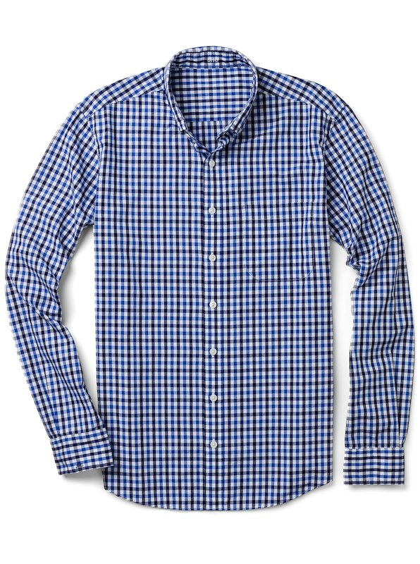 Blue/Navy Gingham