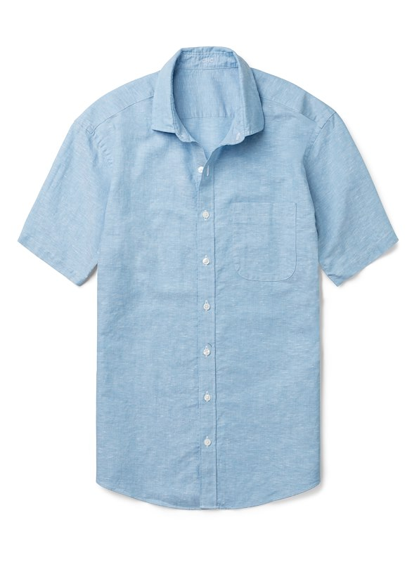 Aqua Cotton/Linen Solid