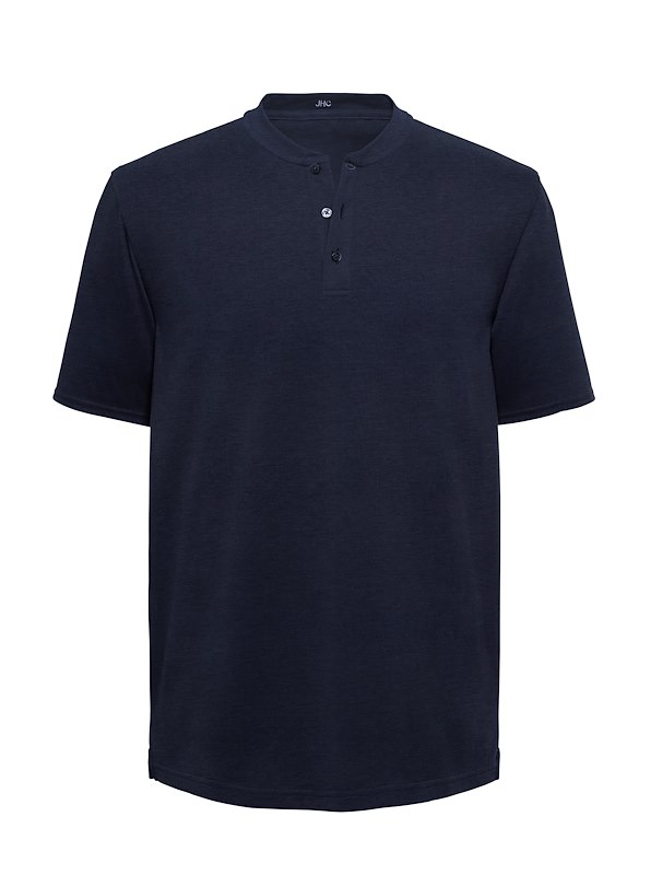 Navy Interlock Jersey