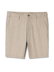 Wheat Cotton Linen Shorts