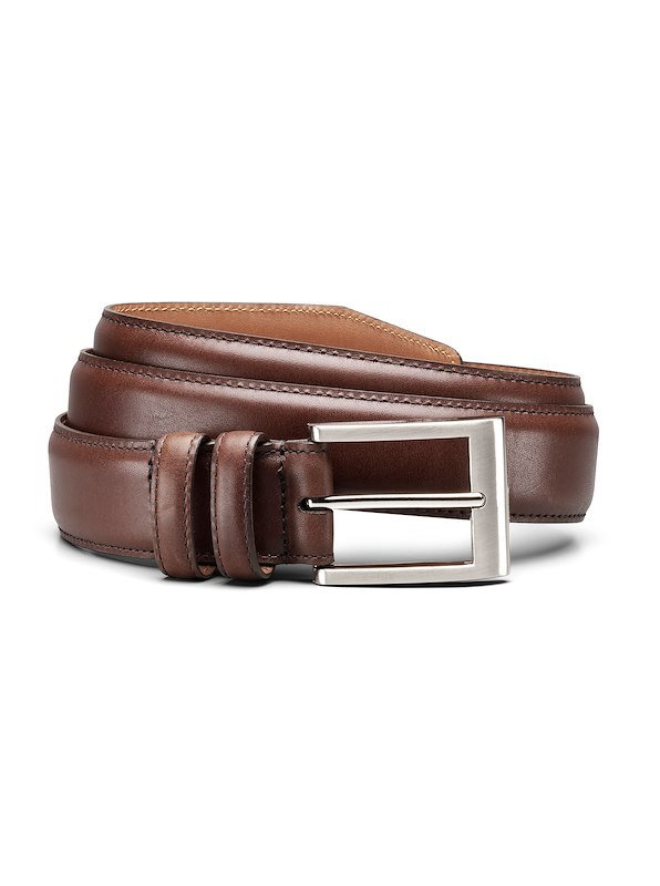 Allen Edmonds Basic Dress Belt - Dark Brown