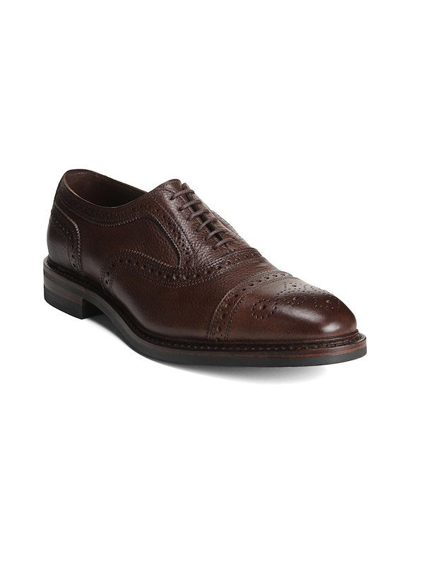 Allen Edmonds Woodrow - Brown Tumbled