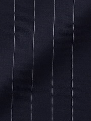 Navy Traditional Pinstripe