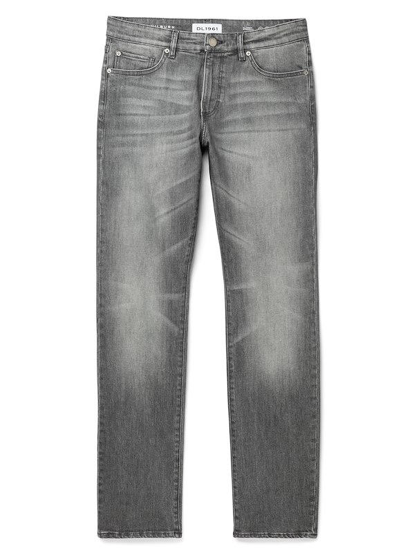DL1961 Denim for J.Hilburn-Classic Straight Fit - Steel