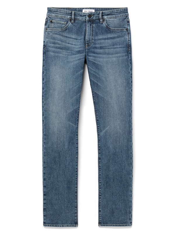 DL1961 Denim for J.Hilburn-Slim Straight Fit - Rise