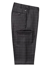 Charcoal Muted Plaid
