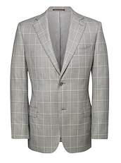 Light Grey Framed Windowpane