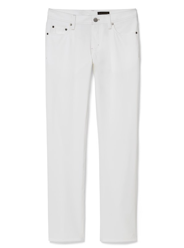 White Performance 5-Pocket