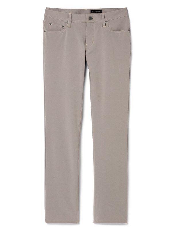 Taupe Performance 5-Pocket