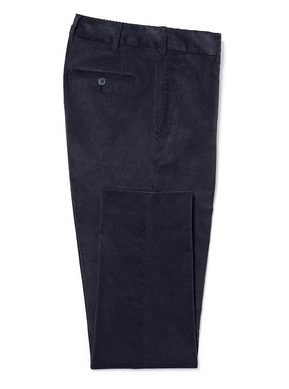 Dark Navy Medium Wale Corduroy | J.Hilburn