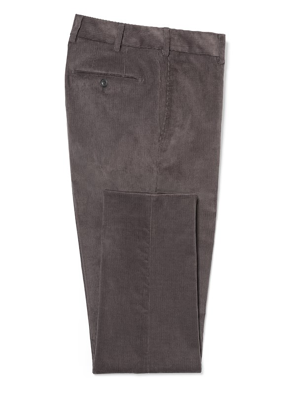 Charcoal Medium Wale Corduroy | J.Hilburn