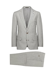 Grey Wool/Linen Solid