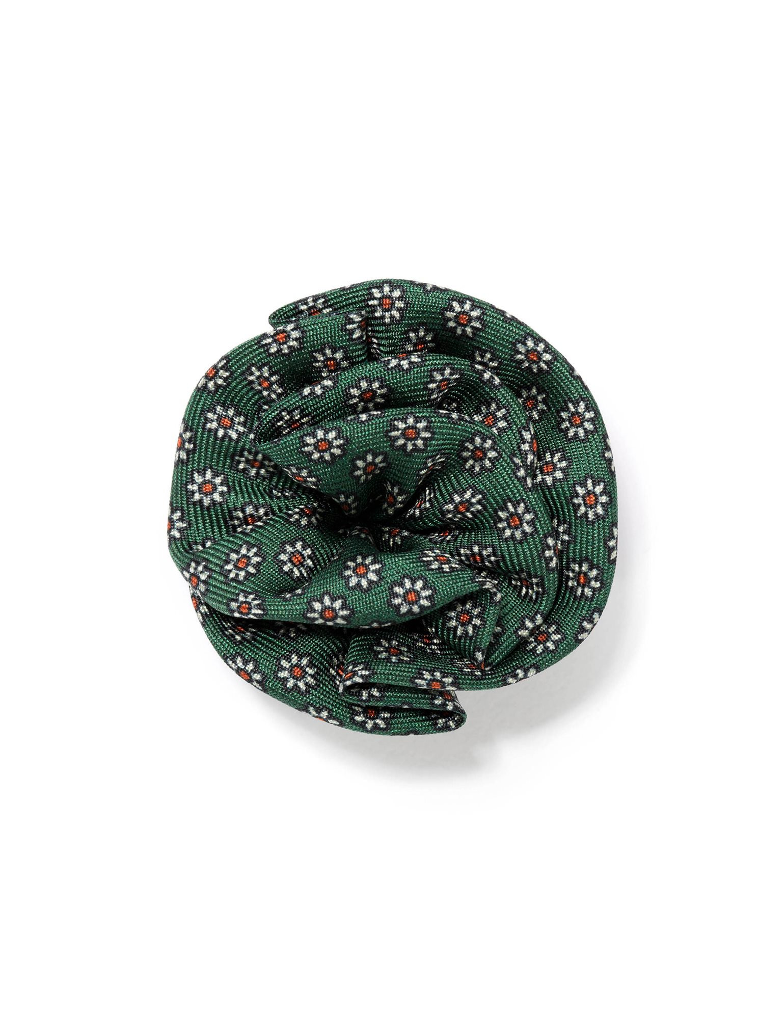 Silk mini flower lapel flower green jhilburn silk mini flower lapel flower green mightylinksfo