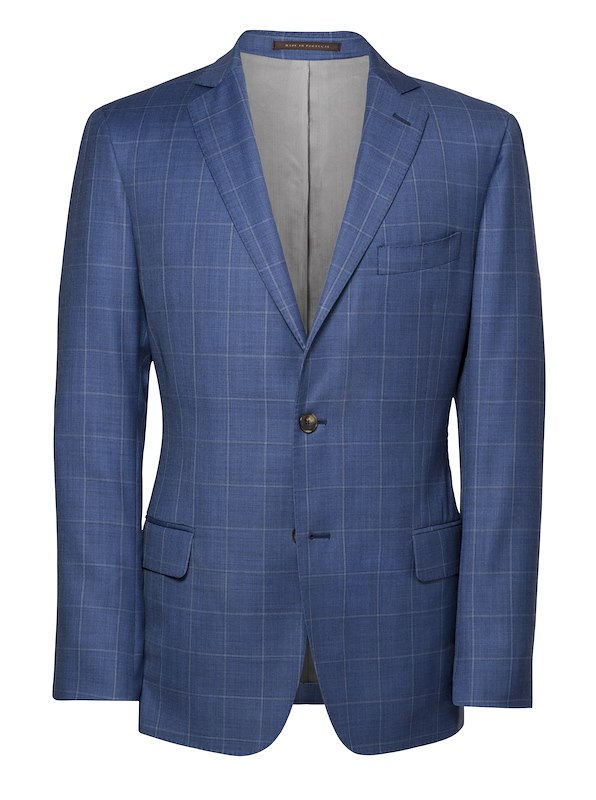 Blue/Brown Windowpane