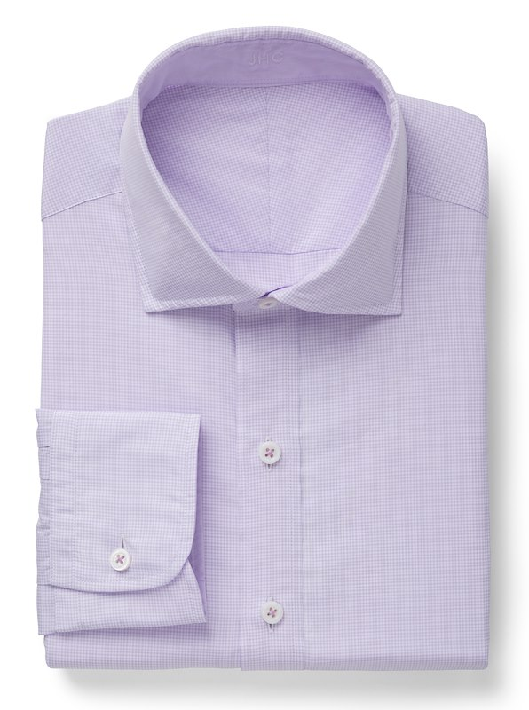 Lavender/White Mini Gingham