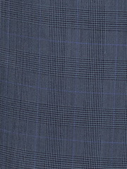 Navy/Blue Glen Plaid