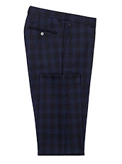 Black Cobalt Plaid