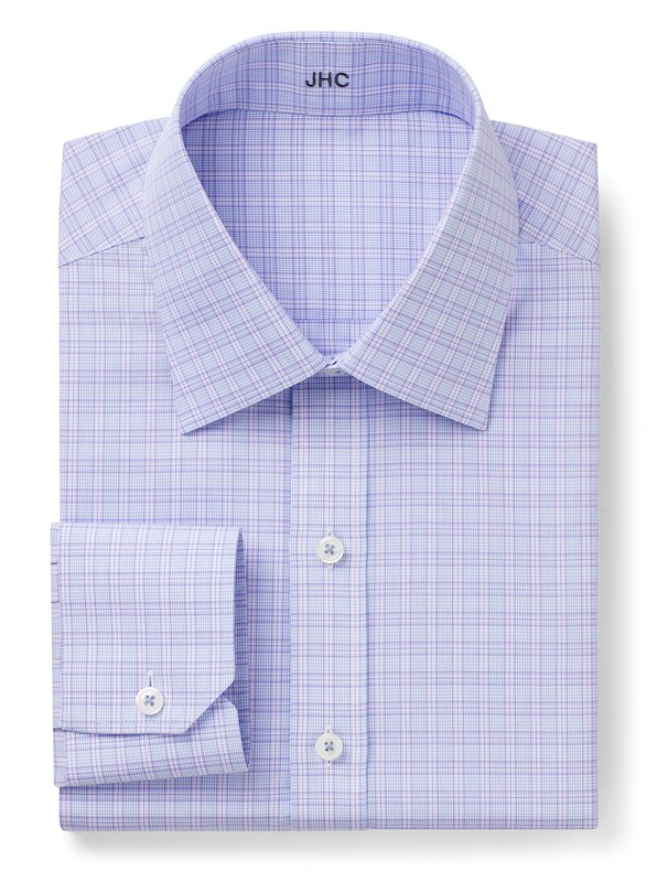 Non-Iron Blue/Lavender Grid Check