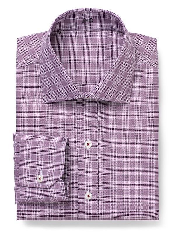 Non-Iron Berry Plaid