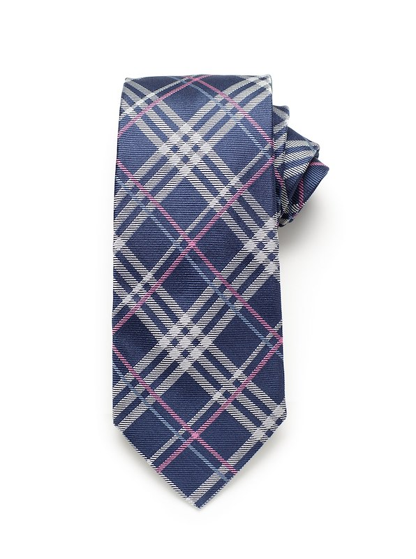 Bias Plaid - Navy