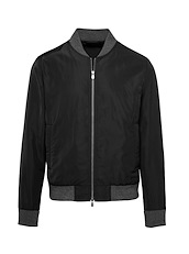 Black Tech Flight Jacket