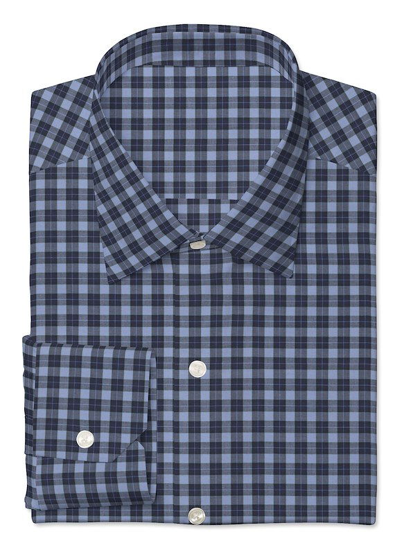 Blue/Navy Mini Plaid