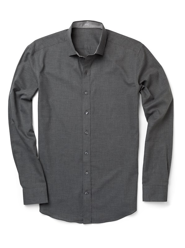 Heather Grey Chambray