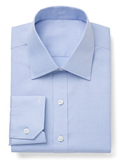 Wrinkle Resistant Blue Micro Houndstooth