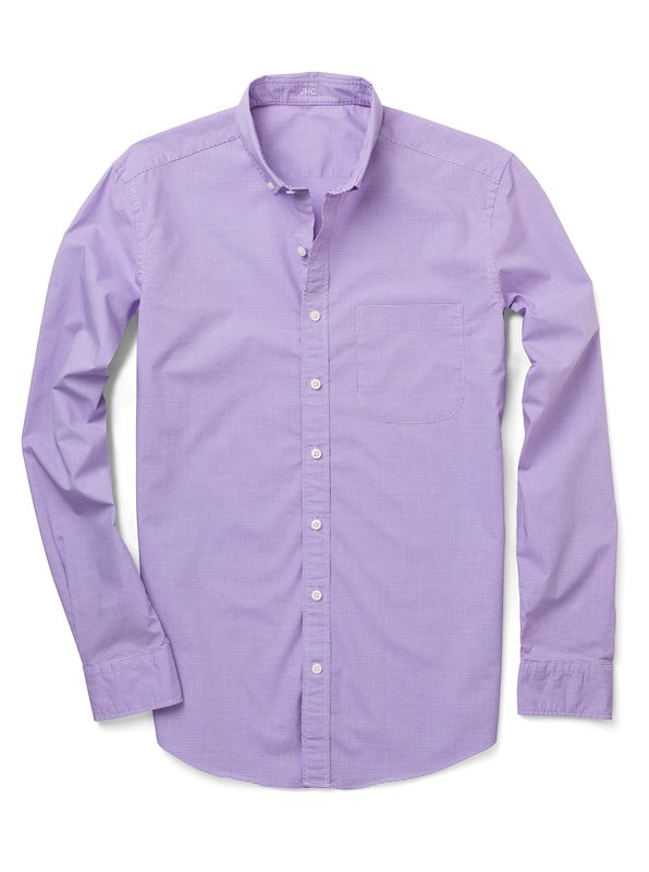 Purple Micro Gingham