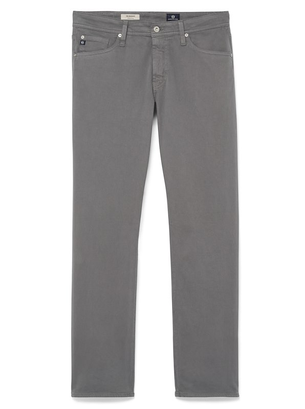 AG Graduate-Sueded 5-Pocket - Stone Grey
