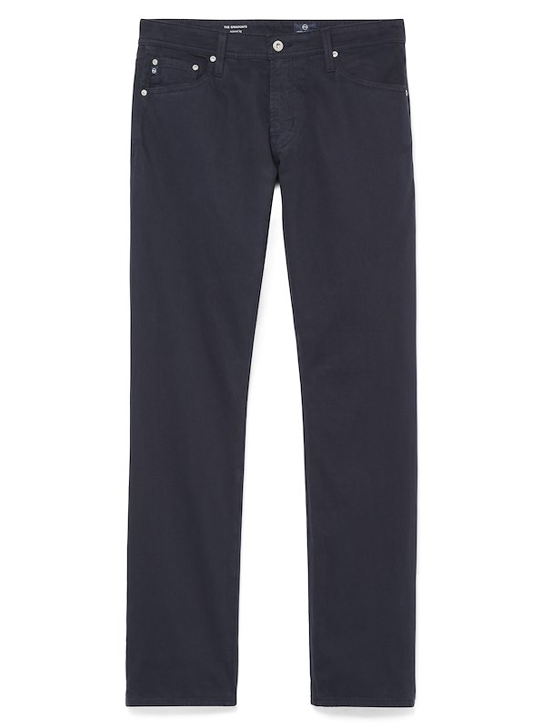 AG Graduate-Sueded 5-Pocket - New Navy