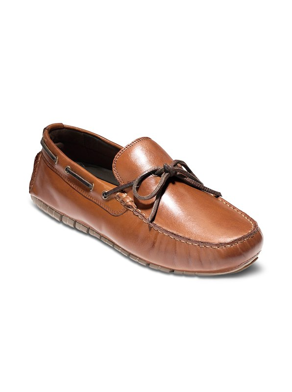 Cole Haan ZeroGrand Camp Moc Drive - Papaya/Tan