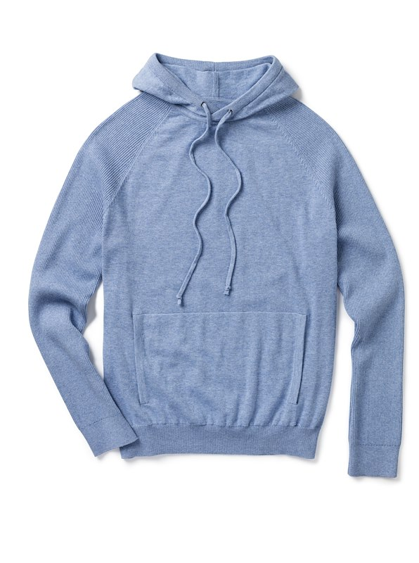 Pullover Hoodie - Blue Heather