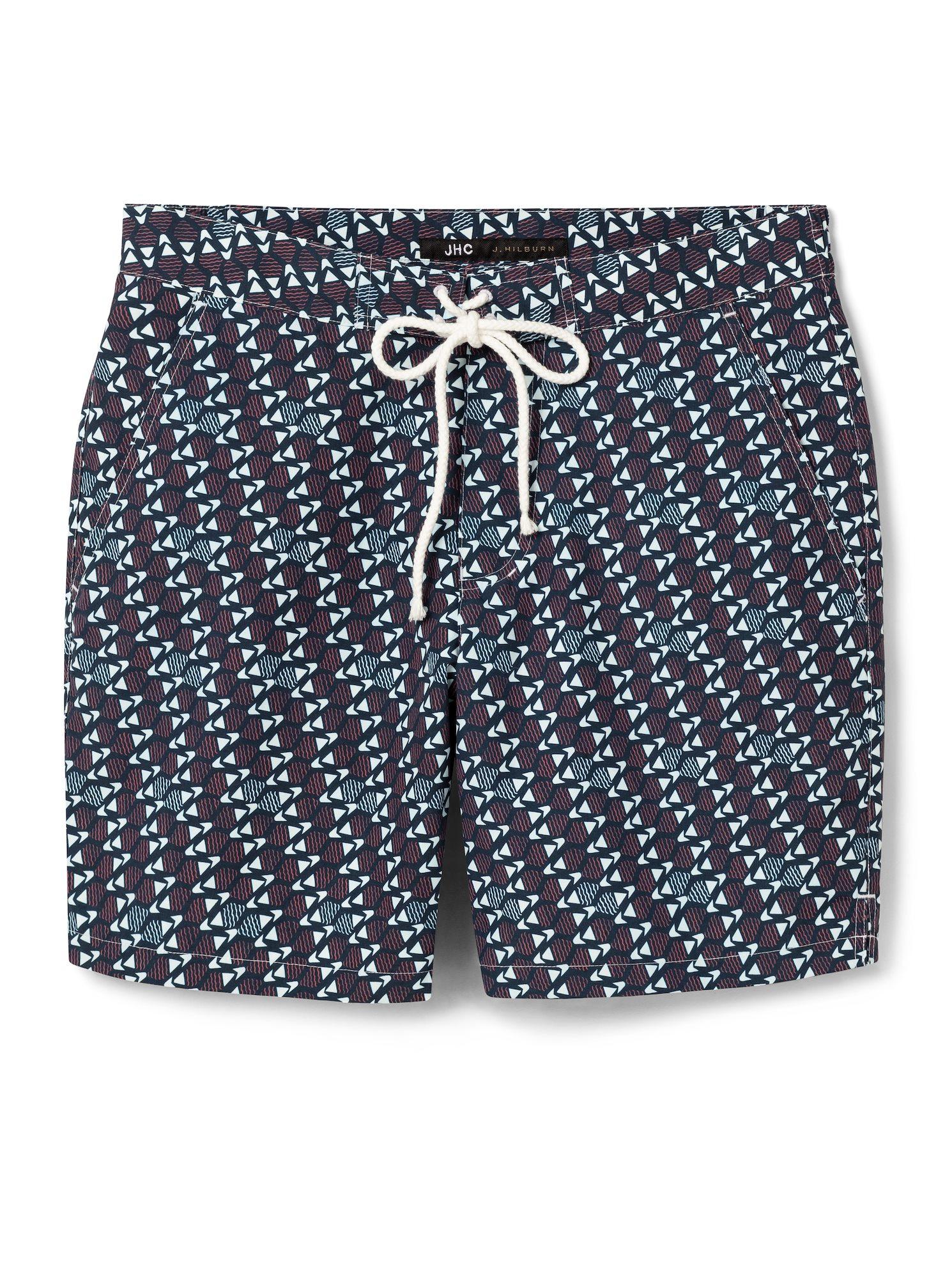d5150b51b2 Navy/Coral Fish Swim Trunk. $148 $99 Add To Favorites