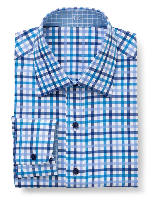 Blue/Teal Multi Gingham