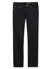 Black Heavy Twill 5-Pocket