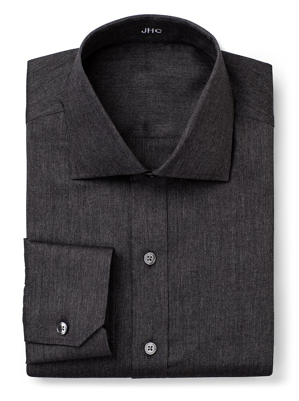 Charcoal Oxford Stretch